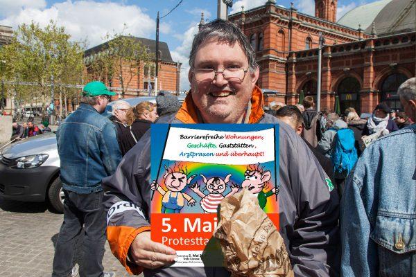 Klaus Lormes fordert: Barrierefreie Wohnungen, Geschäfte, Gaststätten, Arztpraxen und überhauüt!