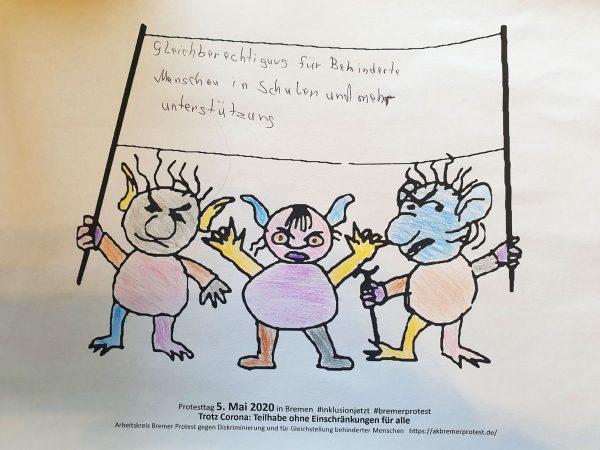 Gleichberechtigung für behinderte Menschen in Schulen und mehr Unterstützung