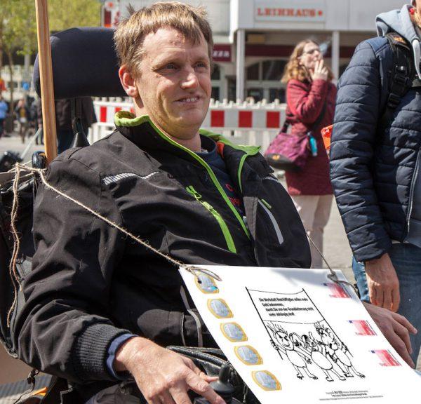 Heiko Blohm fordert mehr Geld für Beschäftigte der Werkstätten