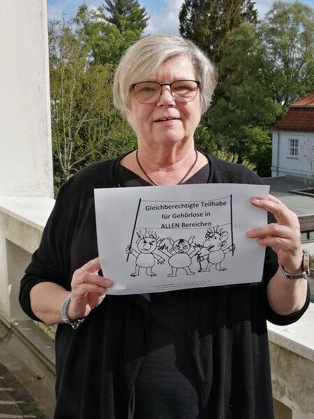 Sabine Schöning, 1. Vorsitzende des Landesverbandes der Gehörlosen Bremen