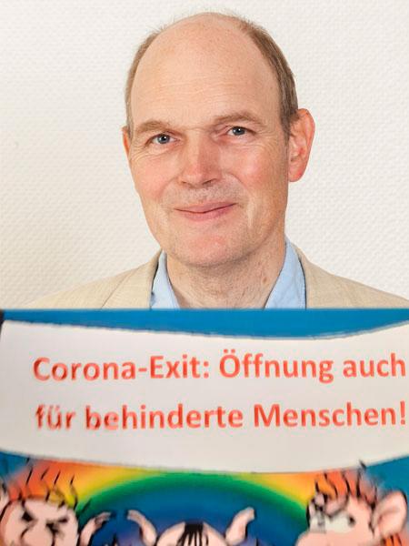 Corona-Exit auch für behinderte Menschen