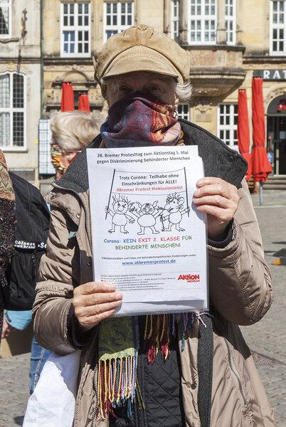 Hannelore Laubstein fordert Teilhabe ohne Einschränkungen für ALLE