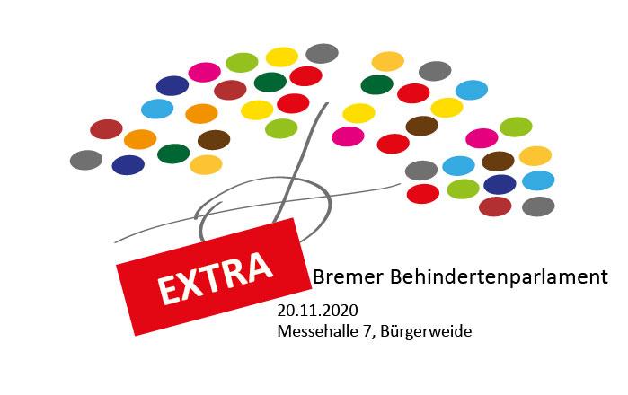 Logo Behindertenparlament-Extra