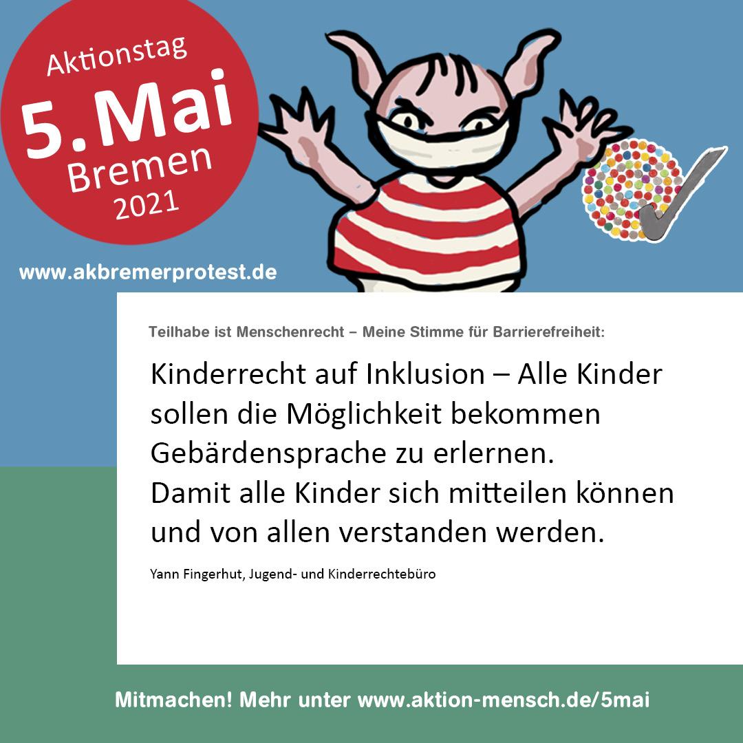 Kinderrecht auf Inklusion