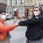 pandemiekonforme Begrüßung