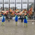 buntes Treiben auf dem Bremer Marktplatz #5mai